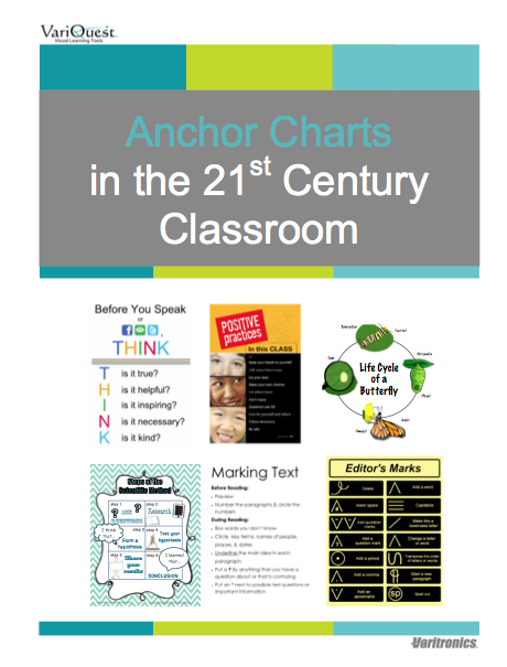 variquest visual learning anchor charts