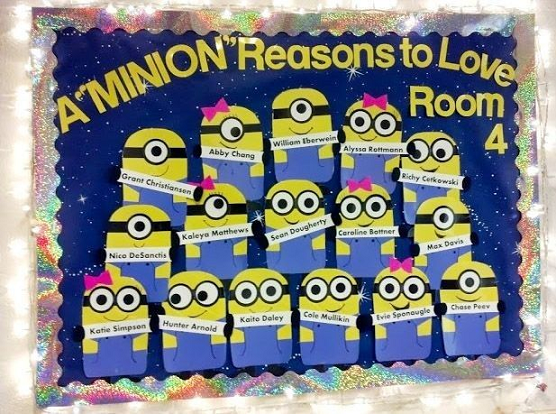minion back to school bulletin board resized 600