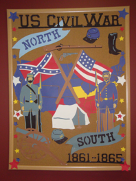 Civil War Bulletin Board