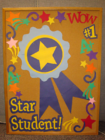 Student Recognition, Star Student Bulletin Board