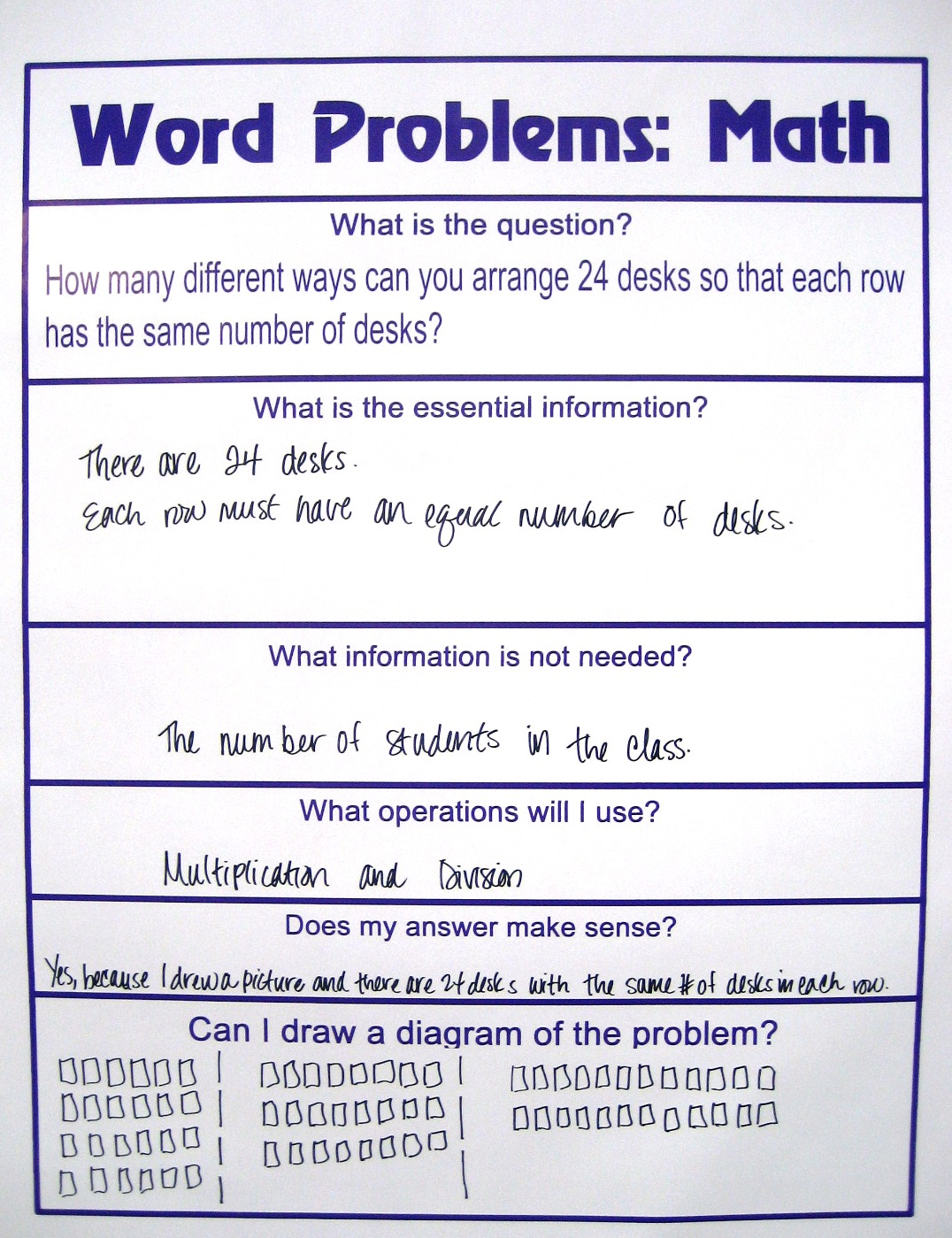 solve math word problems