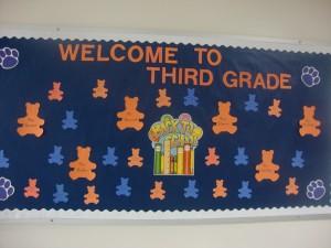 welcome third grade cutout variquest