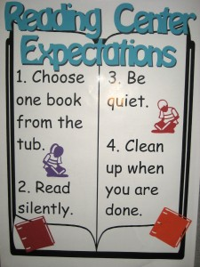 reading center expectations cutout variquest