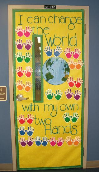 Earth Day Door Display resized 600