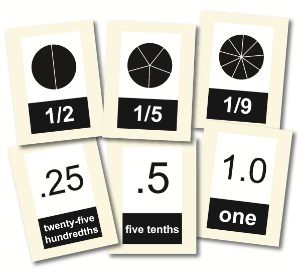 FractionDecimal Flashcards resized 600