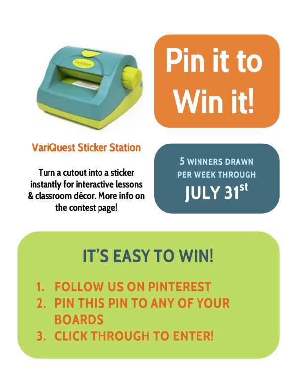 On Pinterest? Here's Your Chance for a VariQuest Freebie!