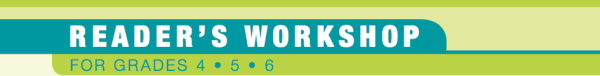 Sneak Peek: Reader's Workshop Launching Unit
