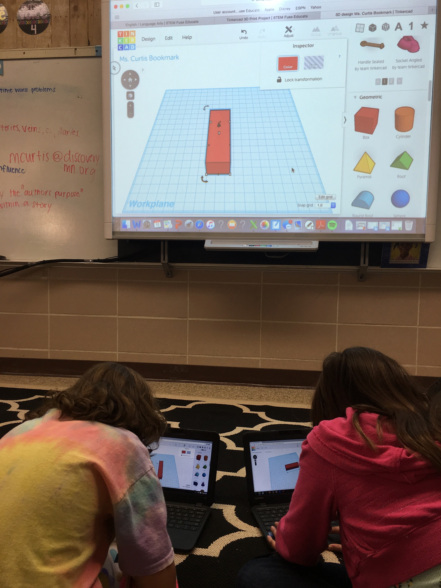 Mikayla's class working on a Tinkercad lesson.jpg