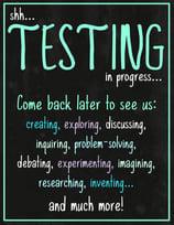 test taking poster thumb