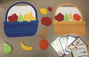 counting fruit basket lesson plan activity