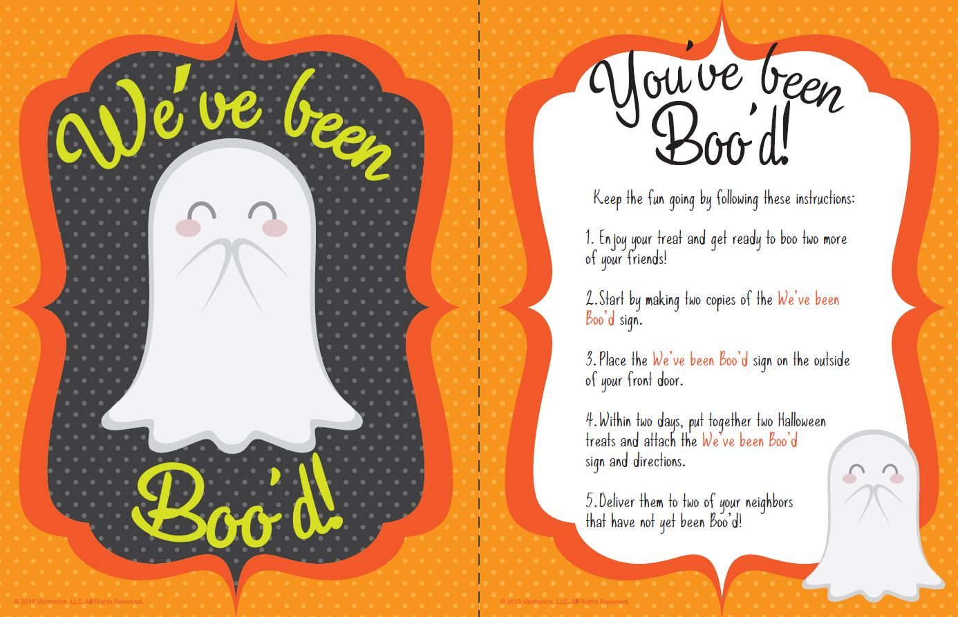 youve been boo_d poster