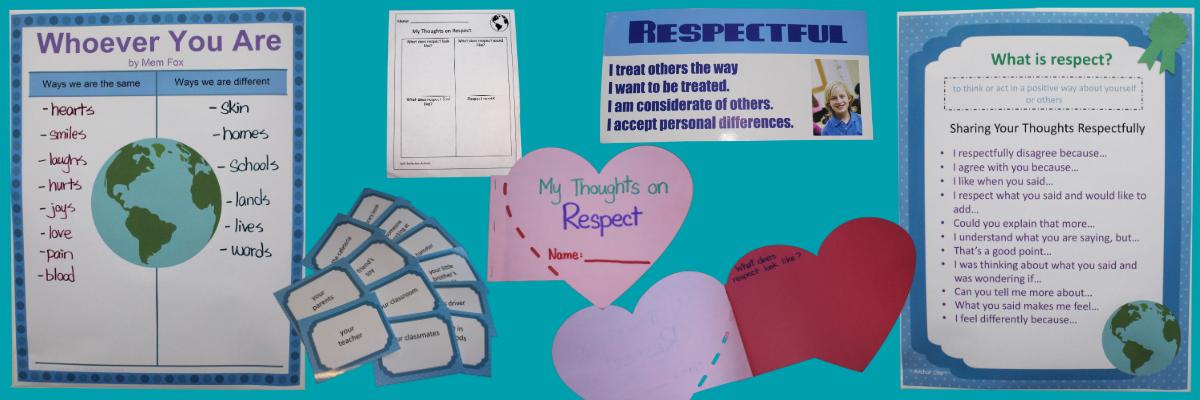 SEL Lesson Plan Respect Blog Header.