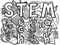 STEM coloring page thumb