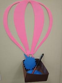 cutout maker hot air balloon