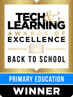 tech and learning primary education award winner 2021