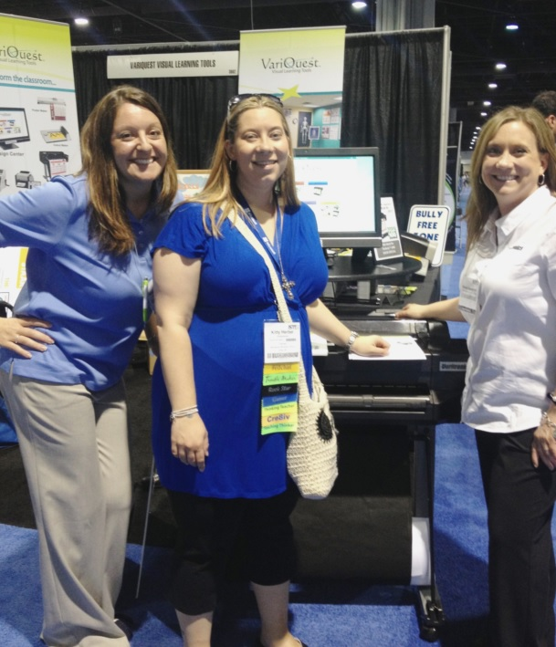 Last Year's Perfecta Winner at ISTE: Kitty Herbel