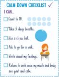 calm down checklist poster thumb