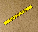 6 feet apart floor marker cutout maker