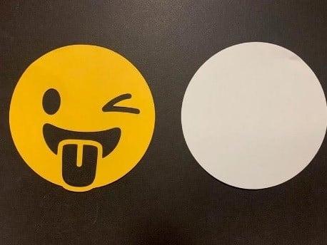 cutout maker emoji created