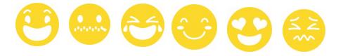 cutout maker emojis