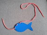 cutout maker lacing card