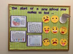 new school year bulletin board variquest cutout maker