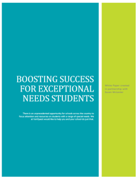 Boosting Success for Exceptional Needs Students ebook thumb