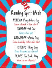 reading spirit week thumb