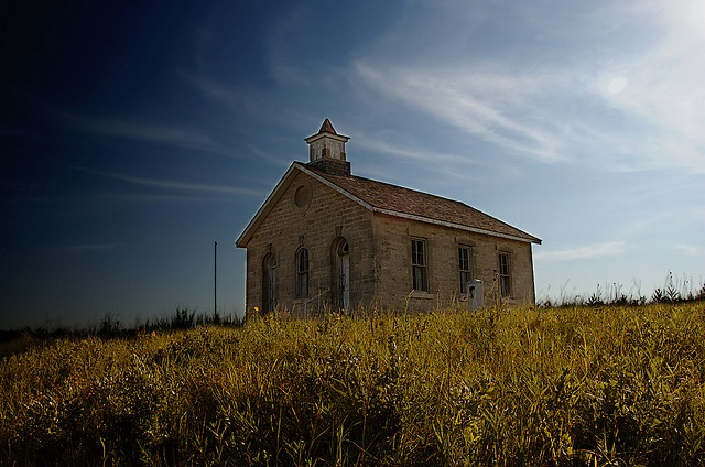#TBT: The One-Room Schoolhouse