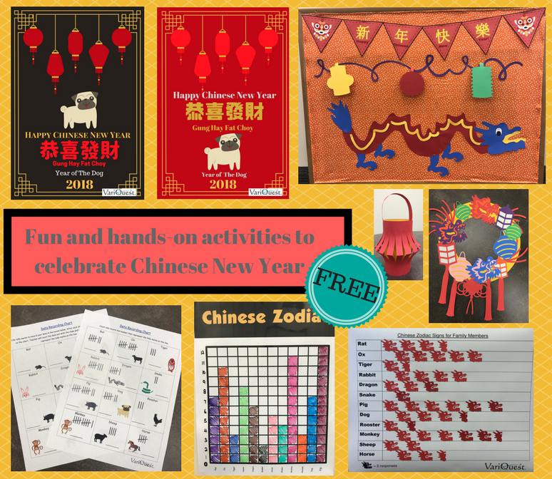 [Lesson Plan] Celebrate the Chinese New Year! 2018