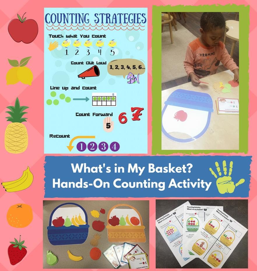 kindergarten counting strategies lesson plan