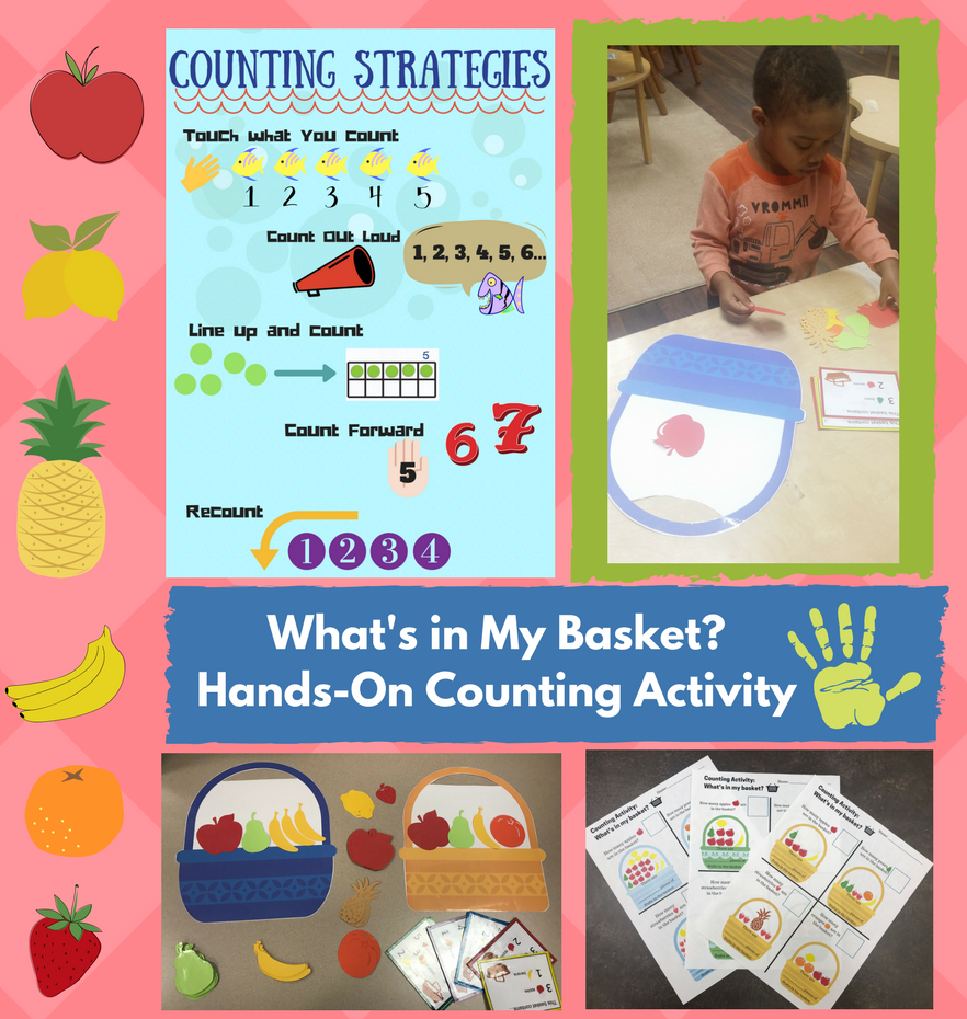 kindergarten counting strategies lesson plan