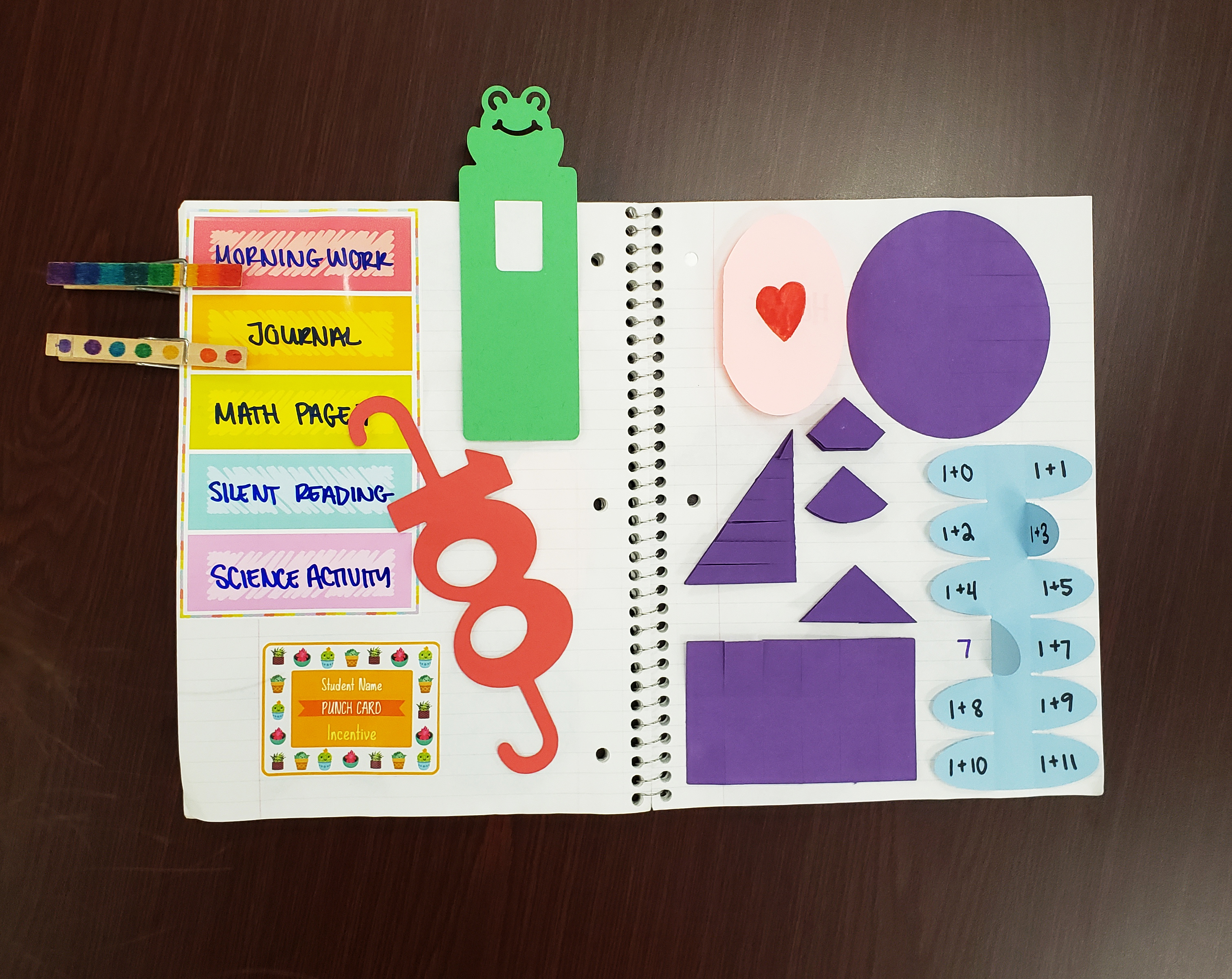 interactive notebook for special education variquest