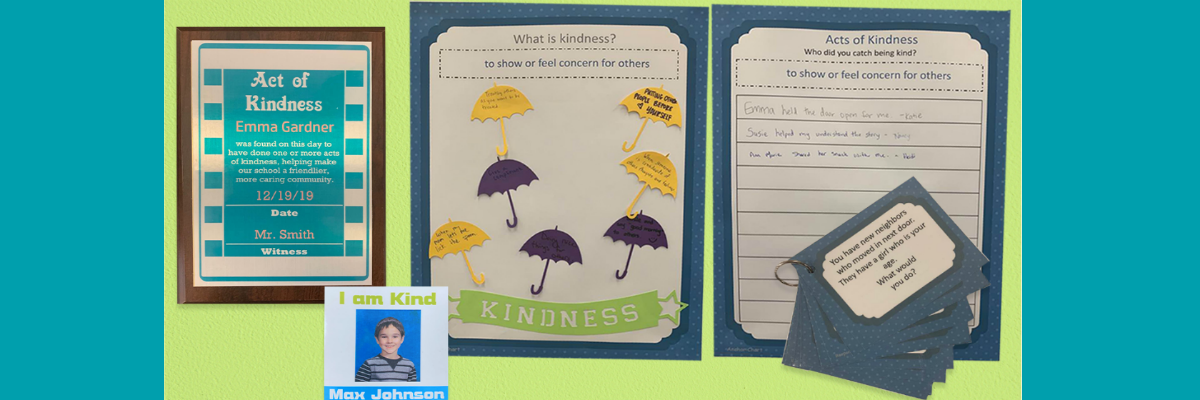 Social-Emotional Learning Unit Lesson 1 - Kindness Blog Header