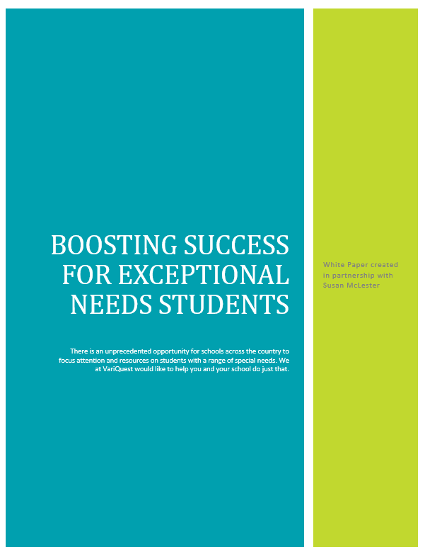 [eBook] Special Education: Boosting Success for Exceptional Needs Students