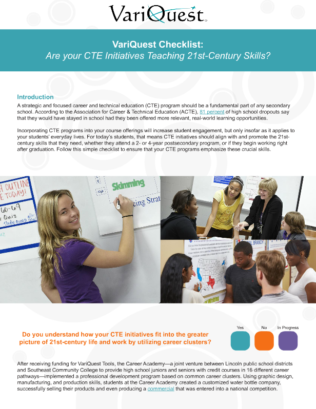 [Checklist] 6 Steps Toward a 21st Century Learning Environment